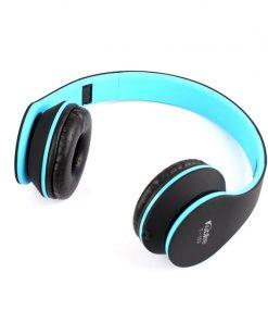 Kubite Foldable Headphones Wired Headsets Stereo Music Earphone T-153