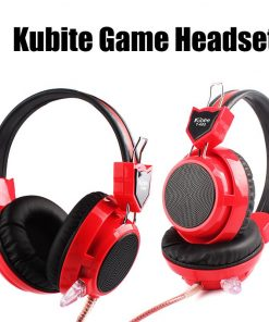 Kubite Gaming Headphone Headset With Microphone For Computer Gamer Sound