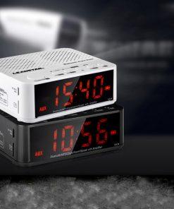 Bluetooth alarm clock speaker with hub led for ipod iphone6 ipad mp3