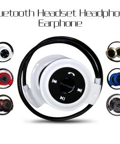 Bluetooth Stereo Headset Headphone Earphone with mic for Samsung iPhone LG HTC