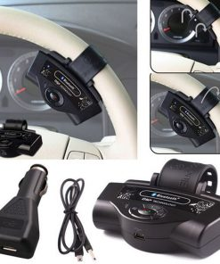 Bluetooth Handsfree Car Kit MP3 Player Steering Wheel for iPhone 6 Samsung S6