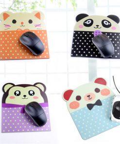 10 Pcs Cartoon Pattern Comfort Anti-slip Mice Pad Mat Mouse pad for Optical Mouse