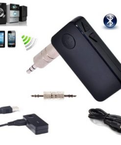 Wireless Bluetooth 3.5mm AUX Audio Stereo Music Speaker Car Receiver Adapter Mic