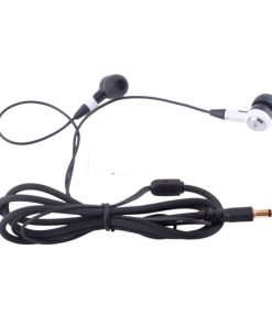 Ergo Fit In Ear Style Earbuds Headphones Earphones 3.5mm Plug for Phone Computer + Mini Headphone Bag