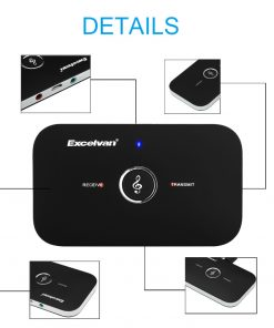 Mini Bluetooth 2.1 2in1 Wireless Audio Receiver Transmitter Music Sound Adapter