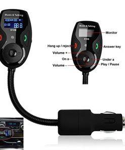 Car Kit MP3 Player Wireless Bluetooth FM Transmitter Modulator + Remote
