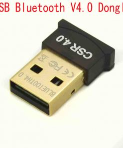 USB 2.0 Mini Wireless Bluetooth V4.0 Dual Mode Dongle Adapter 20m for PC Laptop