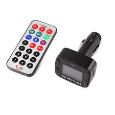 8 in1 Car Music MP3 Player Audio Input With FM Modulator Transmitter 2.1A Charge