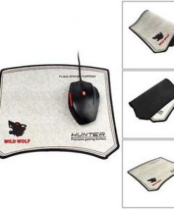 Hunter Cool Wild Wolf Gaming Mouse Pad Silicon Precision gaming surface Mat